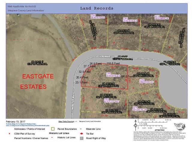2250 Lensmire Lane #39, Waupaca, WI 54981 (#50157402) :: Todd Wiese Homeselling System, Inc.
