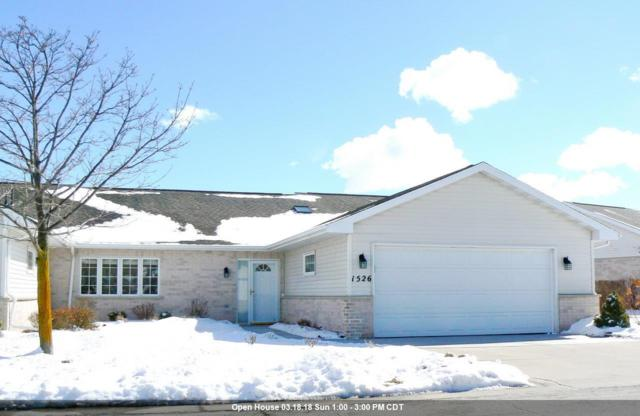 1526 River Pines Drive, Green Bay, WI 54311 (#50178926) :: Todd Wiese Homeselling System, Inc.