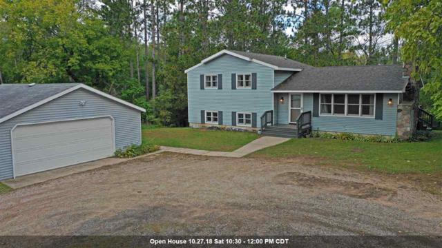 N2255 Parfreyville Road, Waupaca, WI 54981 (#50192069) :: Symes Realty, LLC