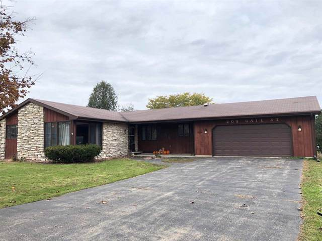203 Gail Drive, Hortonville, WI 54944 (#50213336) :: Symes Realty, LLC