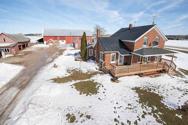 E0886 Hwy K, Luxemburg, WI 54217 (#50217810) :: Todd Wiese Homeselling System, Inc.