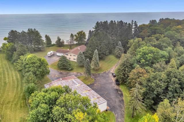 N2896 Lakeshore Road, Kewaunee, WI 54216 (#50248389) :: Ben Bartolazzi Real Estate Inc