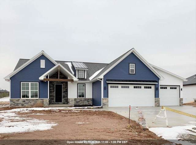 W6829 Design Drive, Greenville, WI 54942 (#50215784) :: Todd Wiese Homeselling System, Inc.