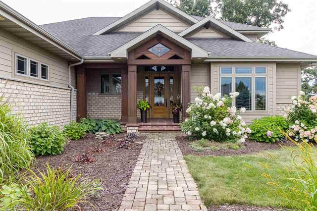3077 Saffron Lane, Neenah, WI 54956 (#50228623) :: Ben Bartolazzi Real Estate Inc