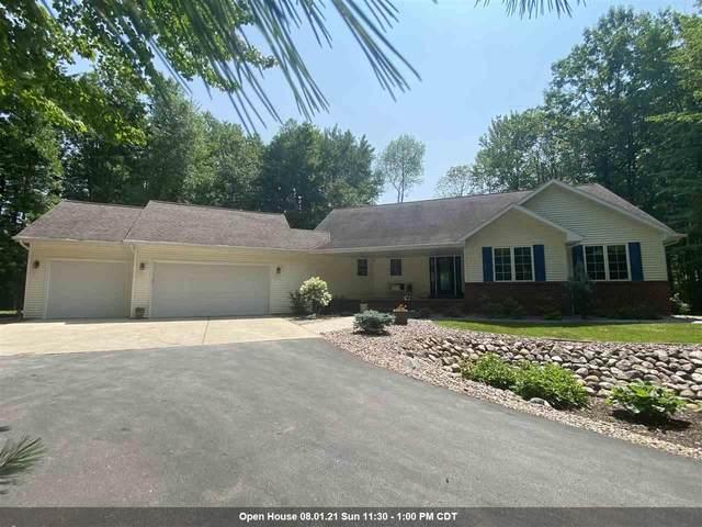 878 Twin Creeks Road, Sobieski, WI 54171 (#50243417) :: Symes Realty, LLC