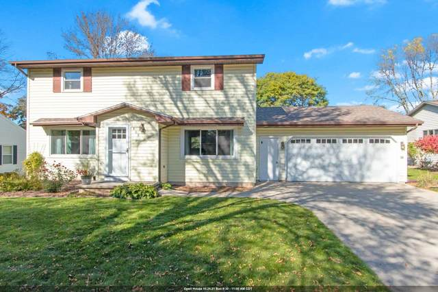 1408 W Cloverdale Drives, Appleton, WI 54914 (#50249953) :: Todd Wiese Homeselling System, Inc.