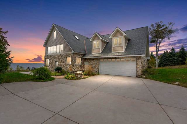 8507 Island View Road, Fish Creek, WI 54212 (#50212104) :: Todd Wiese Homeselling System, Inc.