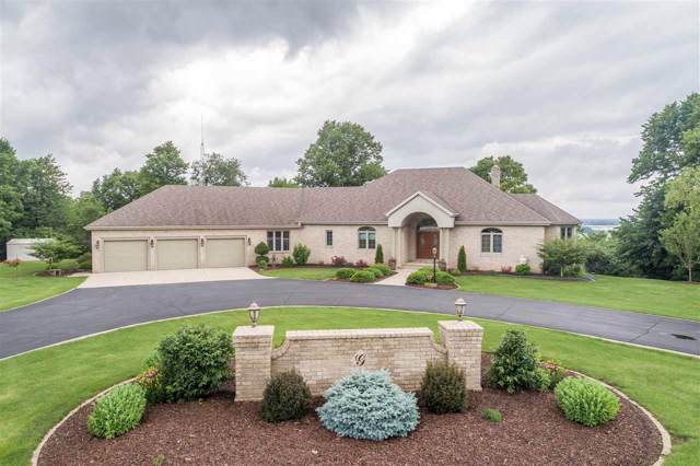 7610 St Pats Church Road, Greenleaf, WI 54126 (#50206263) :: Todd Wiese Homeselling System, Inc.