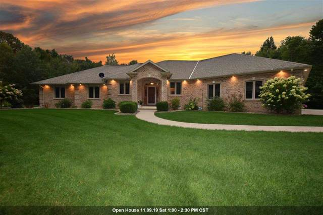 4184 Highview Circle, Pulaski, WI 54162 (#50212167) :: Todd Wiese Homeselling System, Inc.