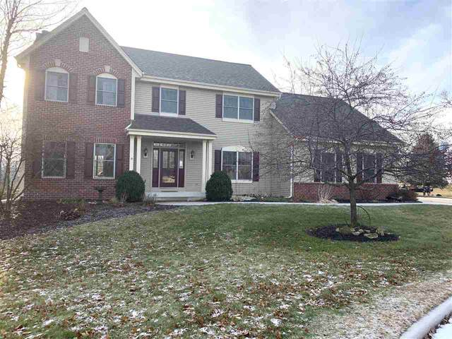 740 Meadow Ridge Court, Brownsville, WI 53006 (#50215294) :: Todd Wiese Homeselling System, Inc.