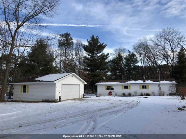N1110 Hwy E, Waupaca, WI 54981 (#50176331) :: Dallaire Realty