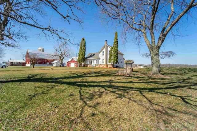 W774 County Hwy H, Fremont, WI 54940 (#50237483) :: Carolyn Stark Real Estate Team