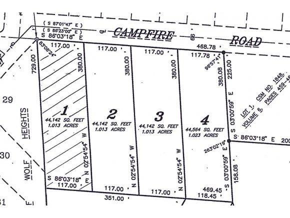 Campfire Road #1, Shawano, WI 54166 (#50138807) :: Symes Realty, LLC