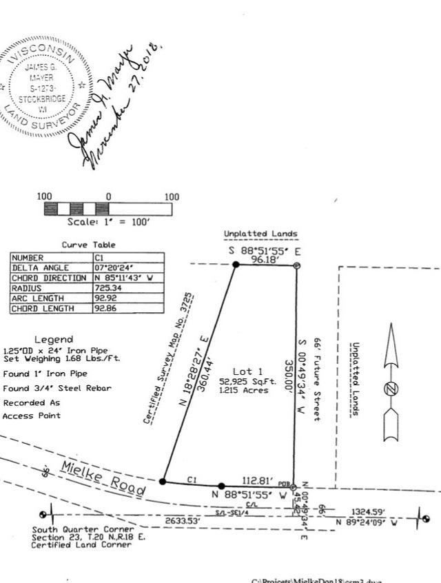 W5408 Mielke Road, Menasha, WI 54952 (#50202127) :: Dallaire Realty