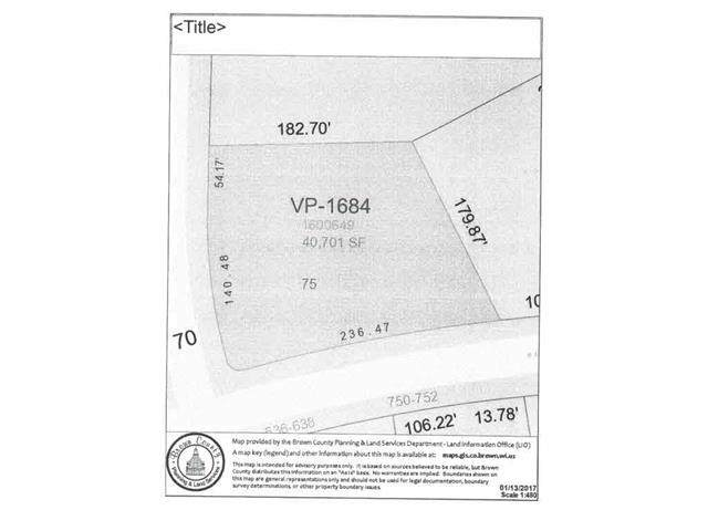 Blue Heron Drive, Pulaski, WI 54162 (#50216338) :: Todd Wiese Homeselling System, Inc.
