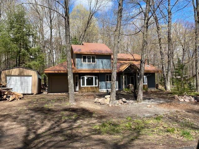 14266 Pine Ridge Lake Lane, Lakewood, WI 54138 (#50239793) :: Ben Bartolazzi Real Estate Inc