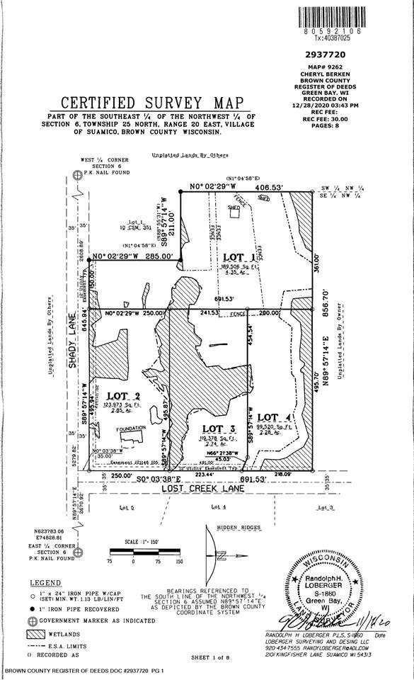 Lost Creek Lane, Green Bay, WI 54313 (#50250036) :: Carolyn Stark Real Estate Team
