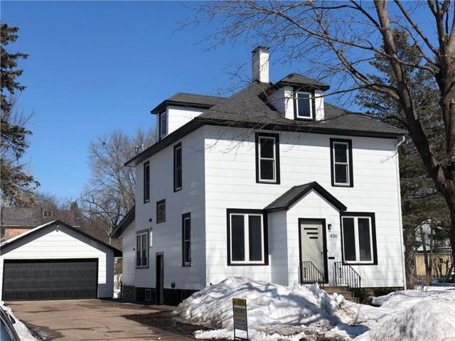 436 Lincoln Avenue, Eau Claire, WI 54701 (MLS #1528324) :: The Hergenrother Realty Group