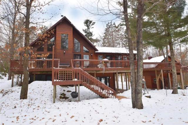 N7572 Wood Drive, Trego, WI 54888 (MLS #1538638) :: The Hergenrother Realty Group