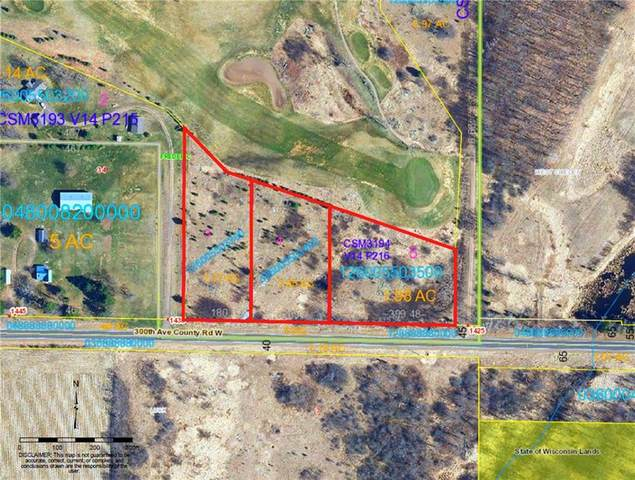 Lots 3, 4, 5 Highway W, Frederic, WI 54837 (MLS #1539331) :: RE/MAX Affiliates