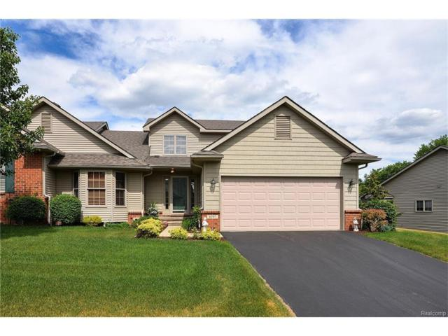 6197 Mountain Laurel Dr, Brighton, MI 48116 (MLS #217052030) :: The John Wentworth Group