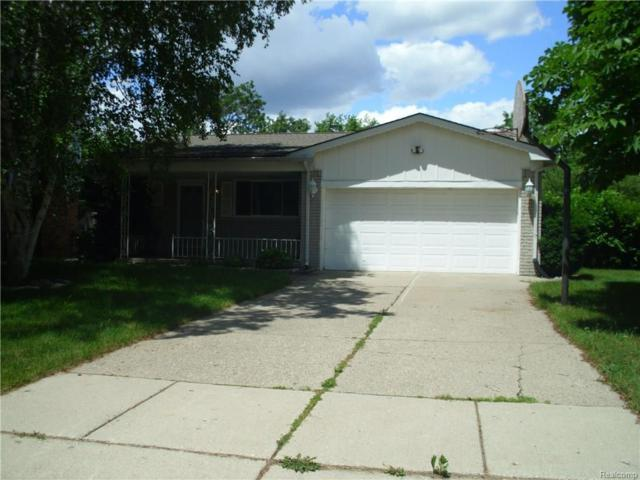 5265 Mansfield Ave, Sterling Heights, MI 48310 (MLS #217054825) :: The Peardon Team