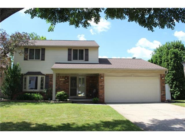 13968 Coldwater Dr, Sterling Heights, MI 48313 (MLS #217055096) :: The Peardon Team