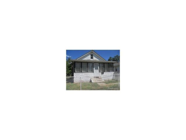50 Gillespie Ave, Pontiac, MI 48341 (MLS #217053773) :: The Peardon Team
