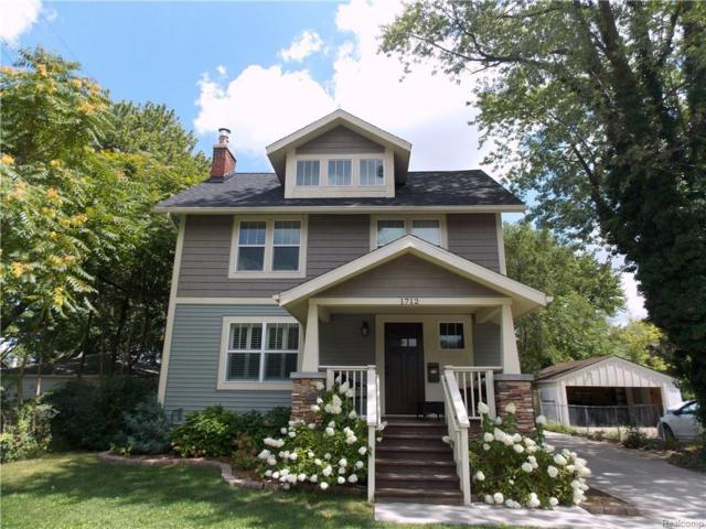 1712 N Washington Ave, Royal Oak, MI 48067 (MLS #217073026) :: The Peardon Team