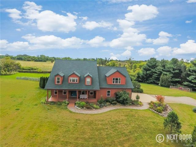 8720 S. Pioneer Dr, Howell, MI 48855 (MLS #217074790) :: The John Wentworth Group