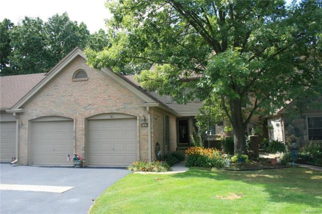 4716 Pine Eagles Dr #22, Brighton, MI 48116 (MLS #217085896) :: The John Wentworth Group