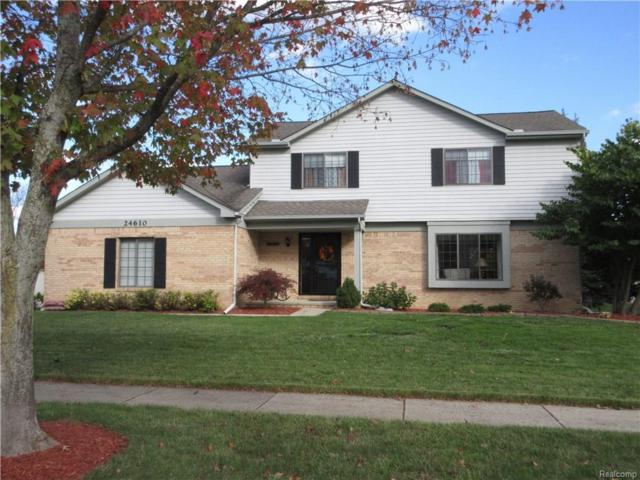 24610 Sarah Flynn Crt, Novi, MI 48374 (MLS #217094001) :: The Peardon Team