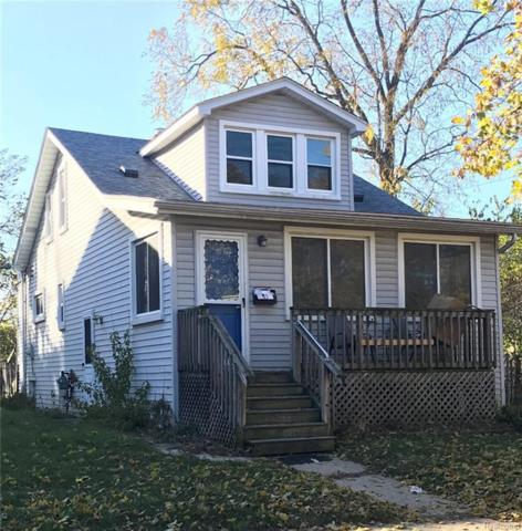 568 E George Ave, Hazel Park, MI 48030 (MLS #217103567) :: The John Wentworth Group