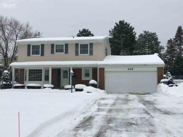 422 Boutell Dr, Grand Blanc, MI 48439 (MLS #30071580) :: The John Wentworth Group