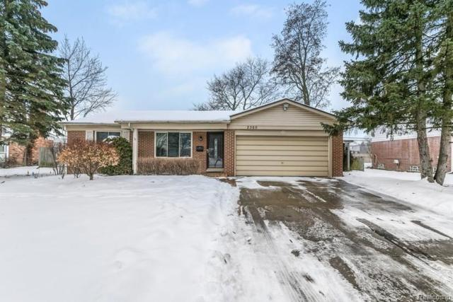 2360 Greensboro Dr, Troy, MI 48085 (MLS #218003040) :: The Peardon Team
