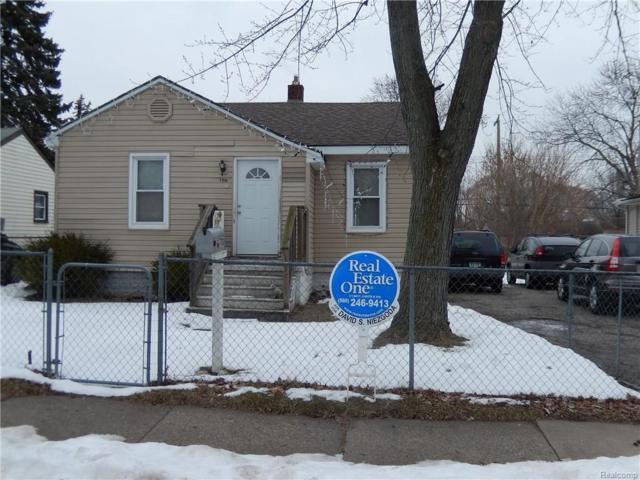 700 Melrose St, Pontiac, MI 48340 (MLS #218013056) :: The Peardon Team