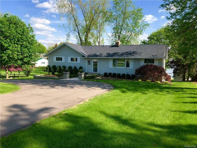 805 Byram Lake Dr, Linden, MI 48451 (MLS #218044229) :: The John Wentworth Group
