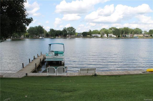 9135 Shinanguag Dr, Goodrich, MI 48438 (MLS #218071978) :: The John Wentworth Group
