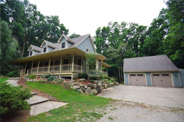 9201 Mabley Hill Rd, Fenton, MI 48430 (MLS #218080004) :: The John Wentworth Group