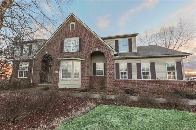 9874 Dublin Dr, Fenton, MI 48430 (MLS #219005915) :: The John Wentworth Group