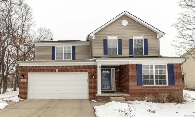 1605 Four Seasons Dr, Howell, MI 48843 (MLS #219014839) :: The John Wentworth Group