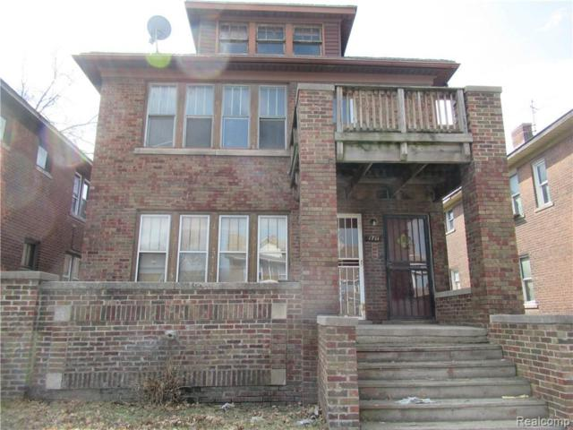 1709 Central St, Detroit, MI 48209 (MLS #219034853) :: The John Wentworth Group