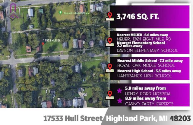 17533 Hull St, Highland Park, MI 48203 (MLS #3264693) :: The Tom Lipinski Team at Keller Williams Lakeside Market Center