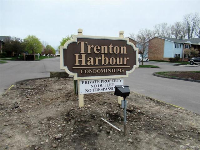 1365 Harbour Blvd Unit#120-Bldg#1, Trenton, MI 48183 (MLS #219035943) :: The Tom Lipinski Team at Keller Williams Lakeside Market Center