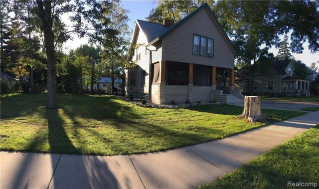 517 N Main St, Almont, MI 48003 (MLS #219038482) :: The John Wentworth Group