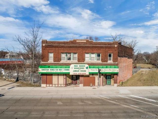 3323 Gratiot Ave, Detroit, MI 48207 (MLS #219042926) :: The Tom Lipinski Team at Keller Williams Lakeside Market Center