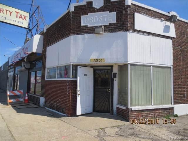 12900 Gratiot Ave, Detroit, MI 48205 (MLS #219036103) :: The Tom Lipinski Team at Keller Williams Lakeside Market Center