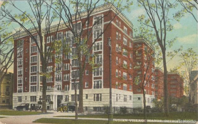 8120 E Jefferson Ave Unit#4G, Detroit, MI 48214 (MLS #219045538) :: The Tom Lipinski Team at Keller Williams Lakeside Market Center