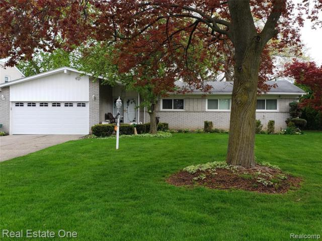 17115 Sherfield Pl, Southfield, MI 48075 (MLS #219044383) :: The Tom Lipinski Team at Keller Williams Lakeside Market Center