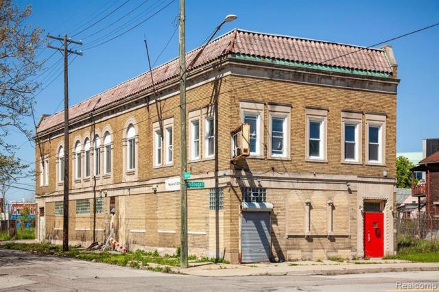 3101 Mcdougall St, Detroit, MI 48207 (MLS #219047517) :: The Tom Lipinski Team at Keller Williams Lakeside Market Center